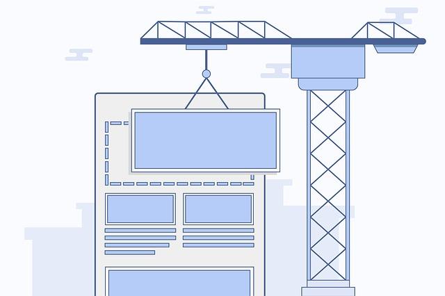 icona costruzione di una Landing page