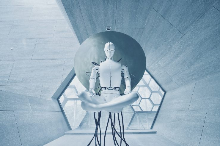 Robot bianco